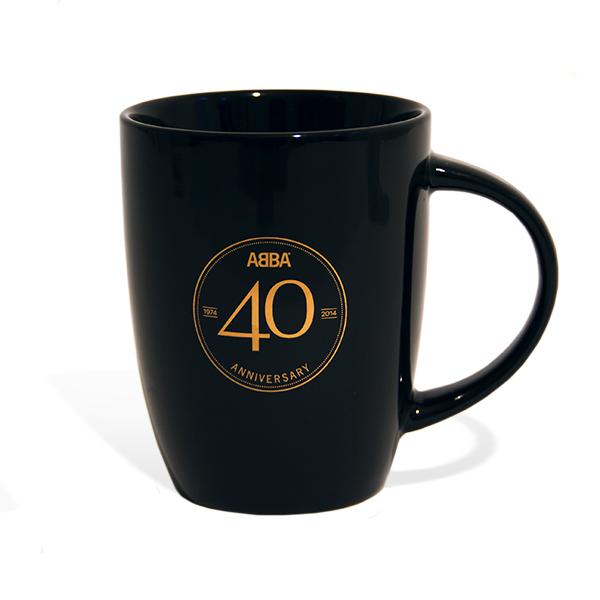 mok 40 jaar ABBA 40 jaar mok 40 jaar
