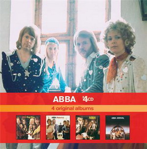 ABBA 4 CDs box 2010