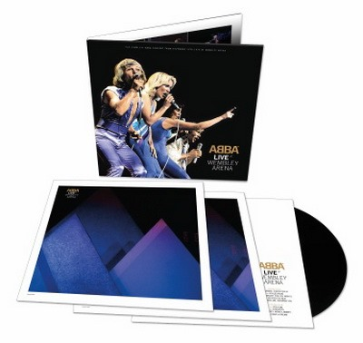 ABBA Live at Wembly Arena ook op 3 vinyl LPs.