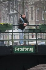 Peter op de Peterbrug in Gorichem