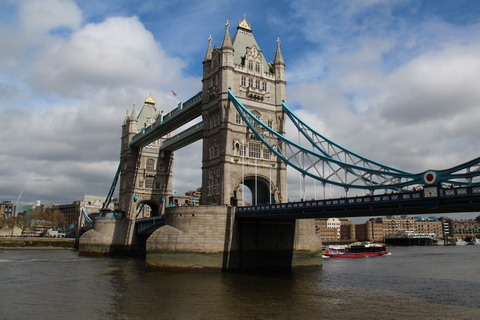 The Towerbridge Londen 6 april 2014