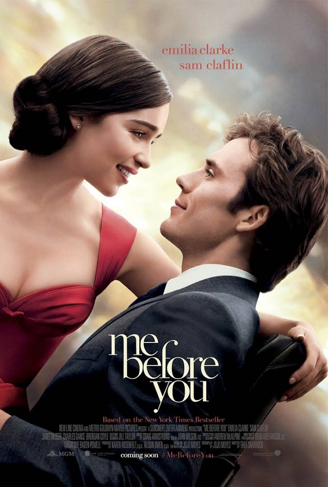 Filmposter Me Before You