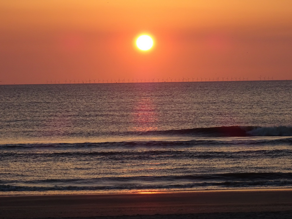 Zonsondergang in Wijk aan Zee 29 april 2017