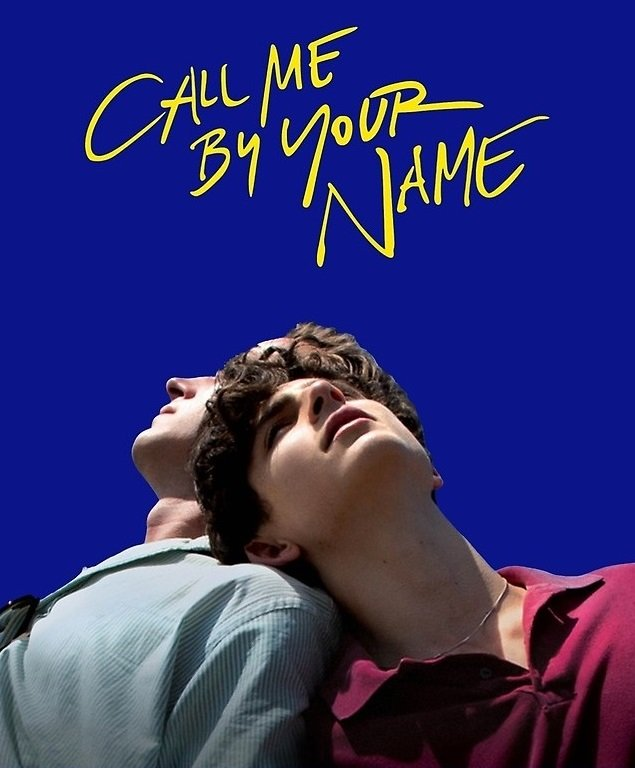 "Film poster ""Call me by your name'"