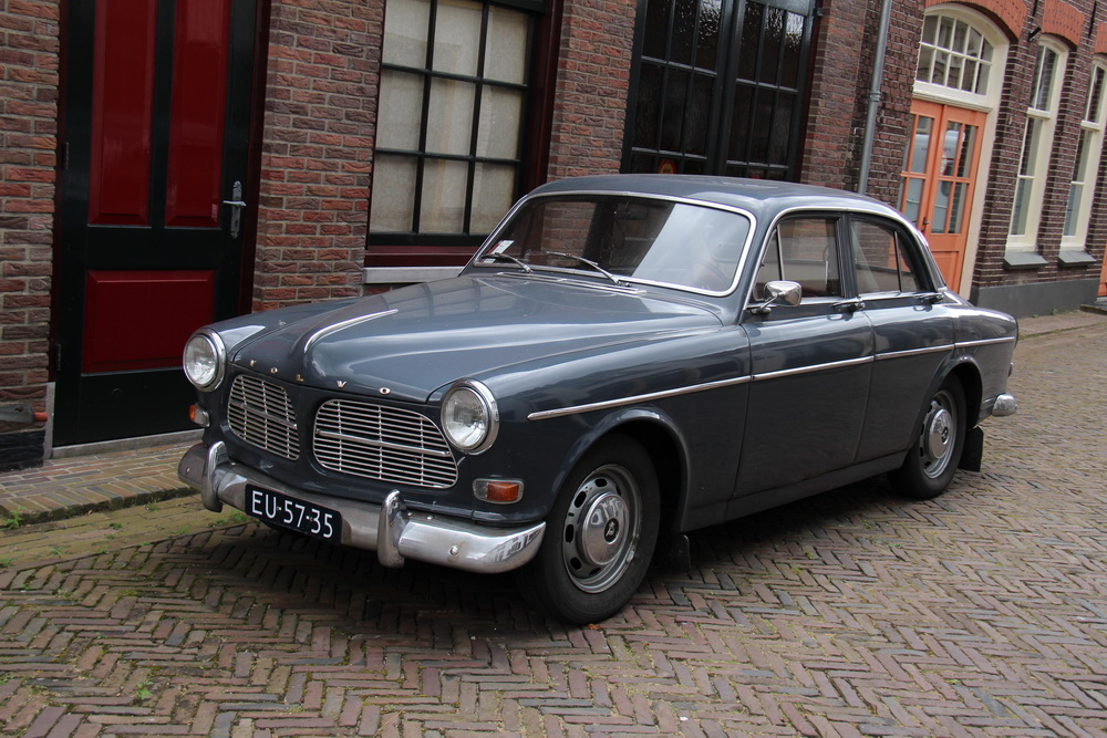 Mooie oude Volvo Amazon in Doesburg. 29 augustus 2016